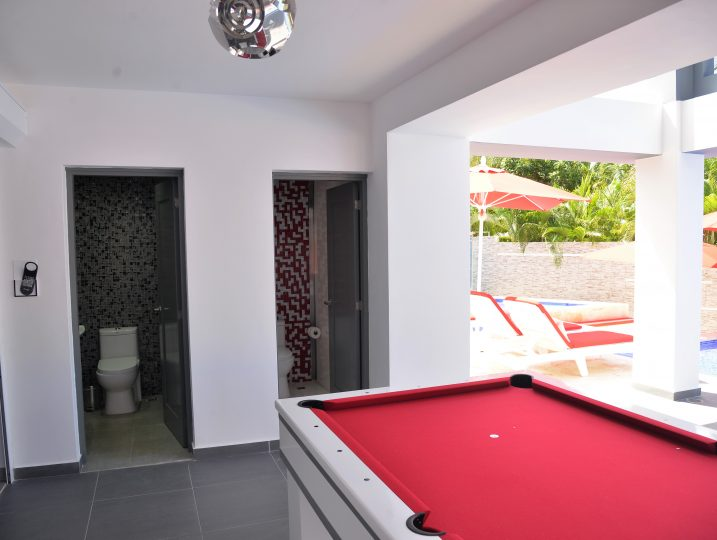 Poolside Bathrooms