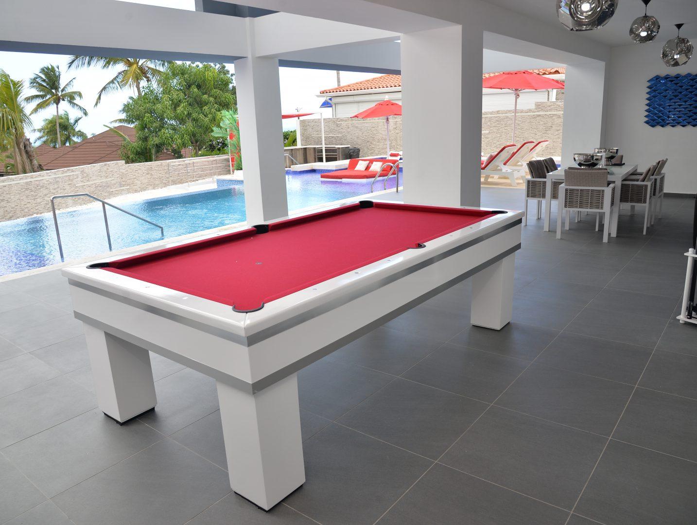 Pool Area / Pool Table