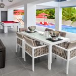 Poolside Outdoor Table