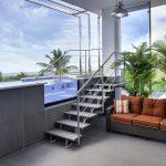 Second Floor Balcony Pool Entry