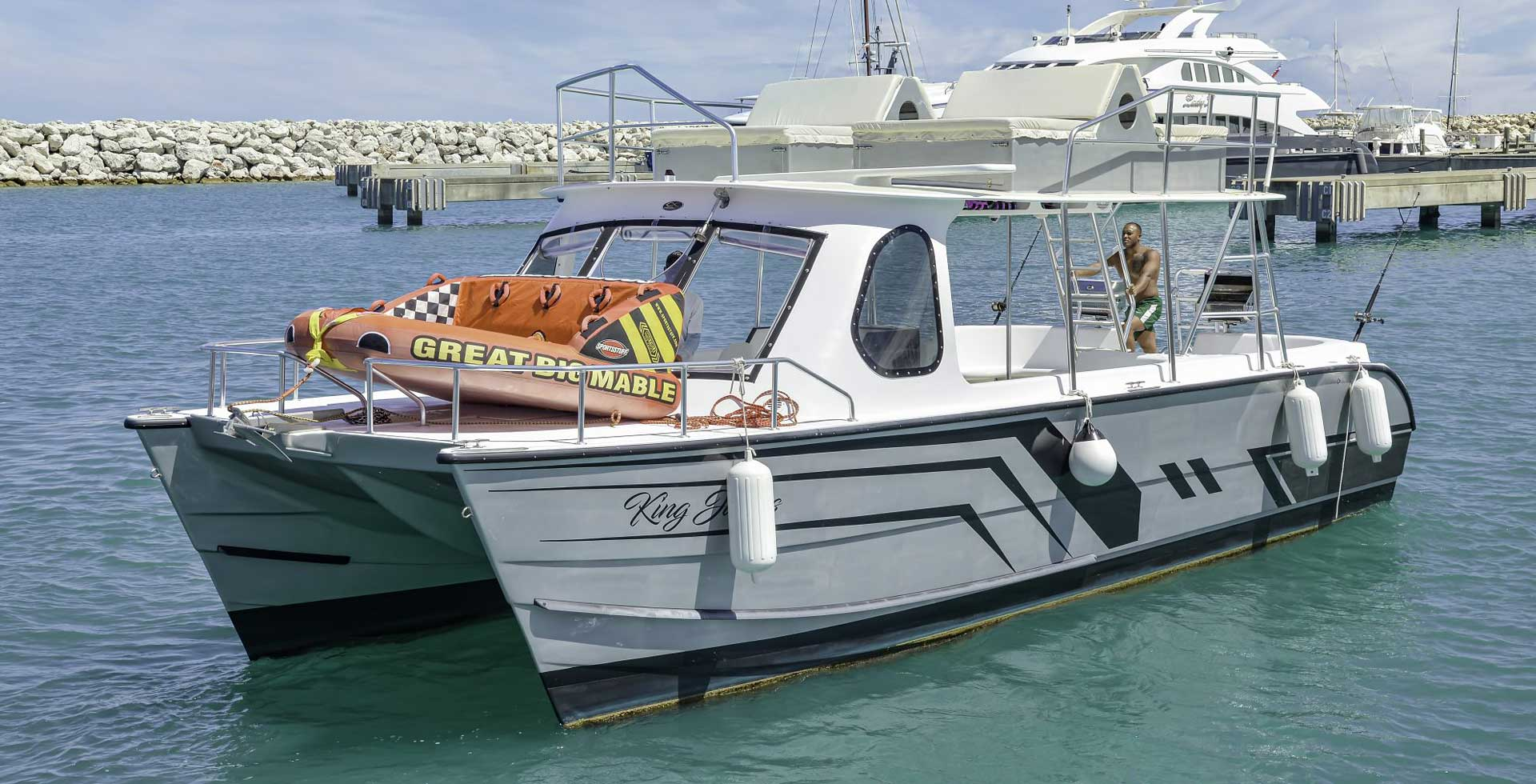Catamaran for 4 hrs