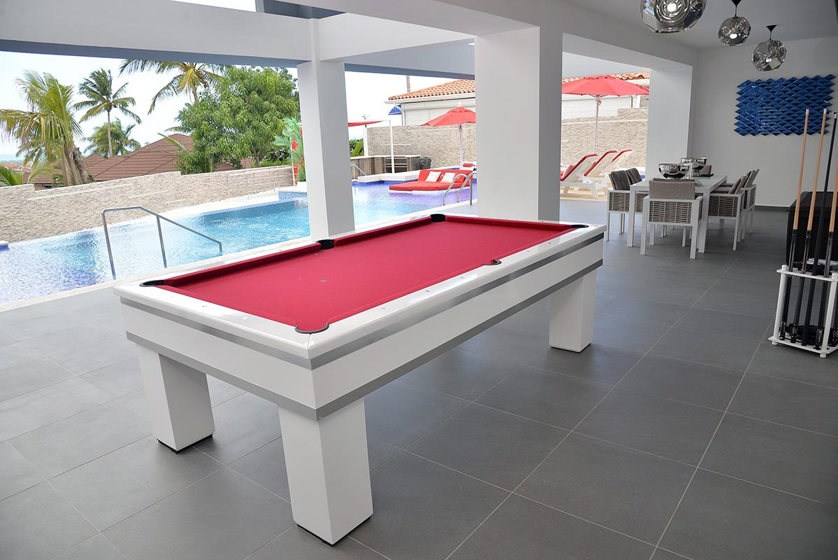 Pool Area / Pool Table